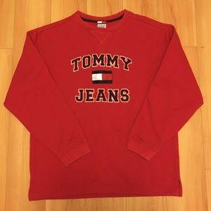 💰🔥 Vintage TOMMY HILFIGER JEANS OG Sweatshirt L